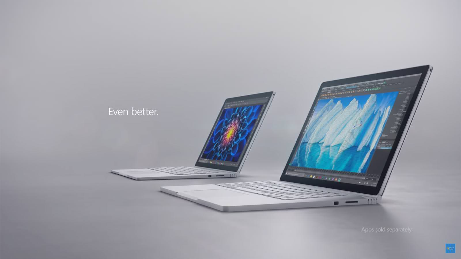 Новый лэптоп Microsoft Surface Book i7