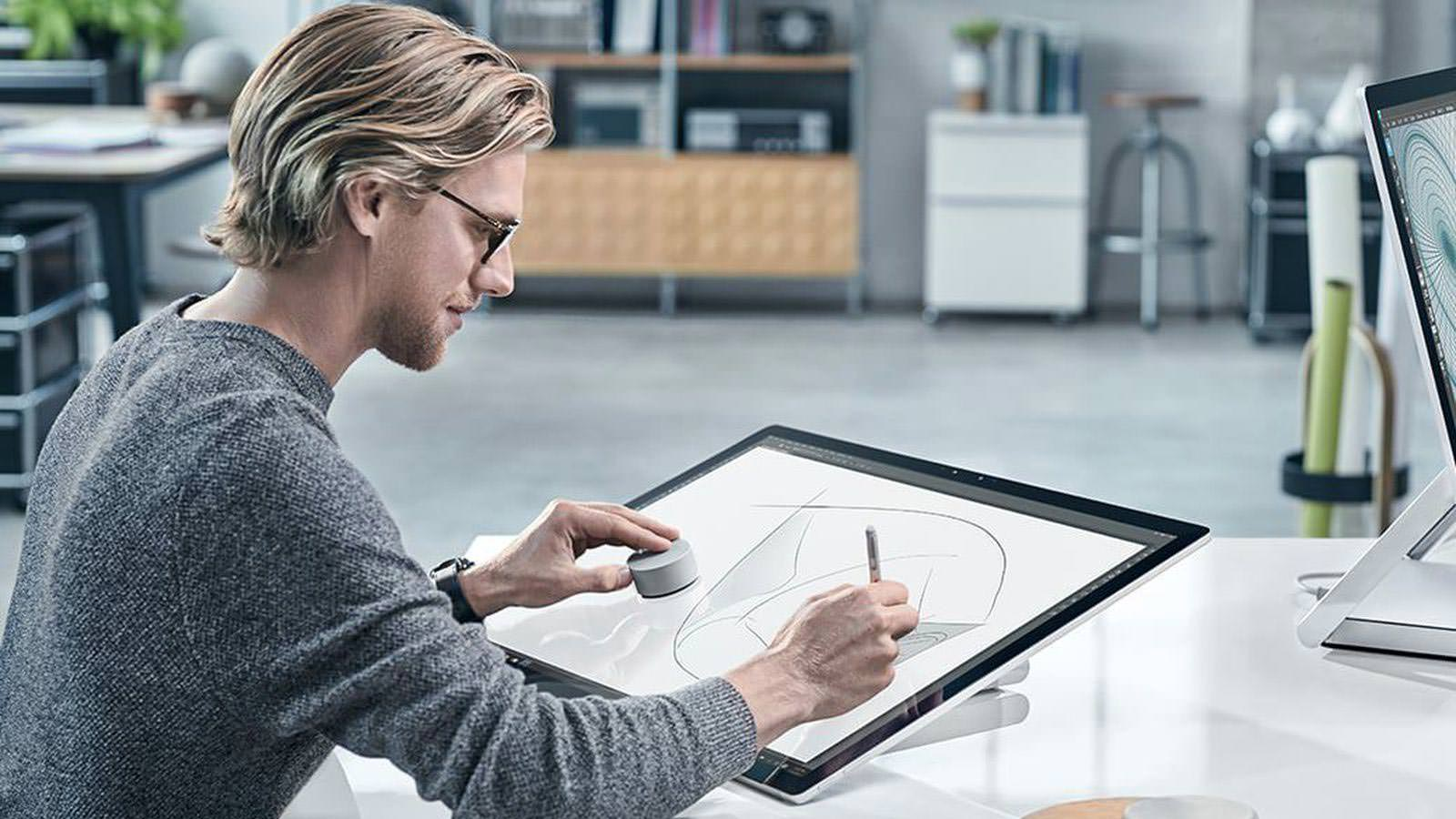 Моноблок Microsoft Surface Studio для художников