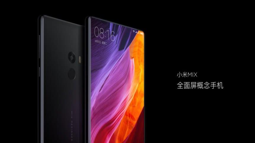 Безрамочный фаблет Xiaomi MIX