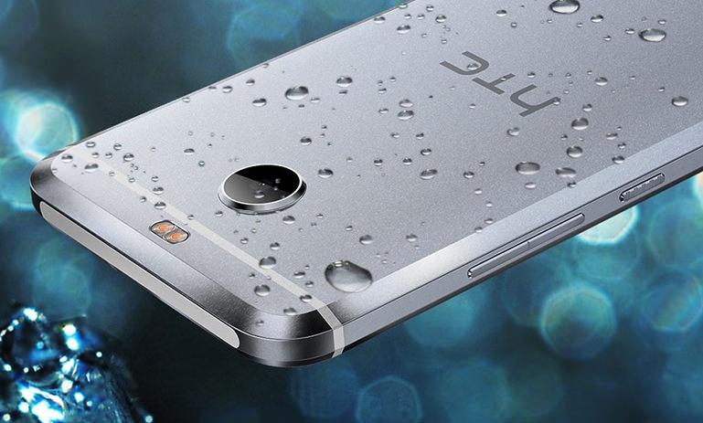 Смартфон HTC Bolt с защитой от воды и пыли IP57