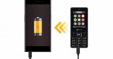 Телефон для подзарядки смартфона SENSEIT L208 | цена, хар-ки