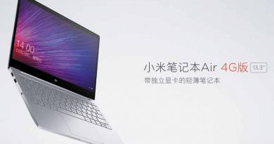 Новый ноутбук с LTE - Xiaomi Mi Notebook Air 4G | цена