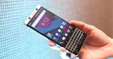 BlackBerry Mercury - стильный смартфон с QWERTY-клавиатурой
