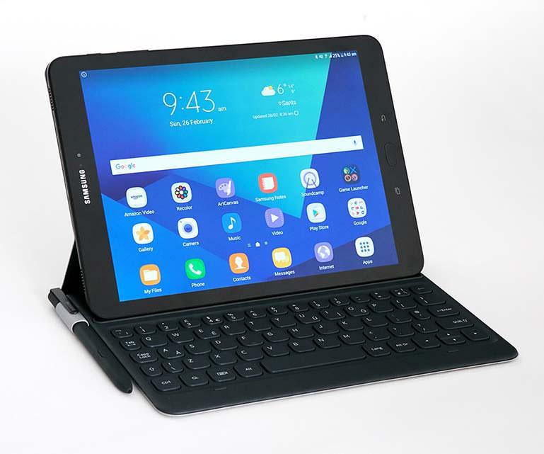 Флип-клавиатура для Samsung Galaxy Tab S3 - это опция