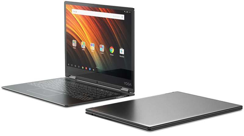 Lenovo Yoga A12: ноутбук с сенсорной клавиатурой на Android