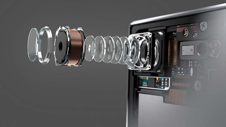 19-Мп камера Motion Eye с матрицей ExmorRS в смартфоне