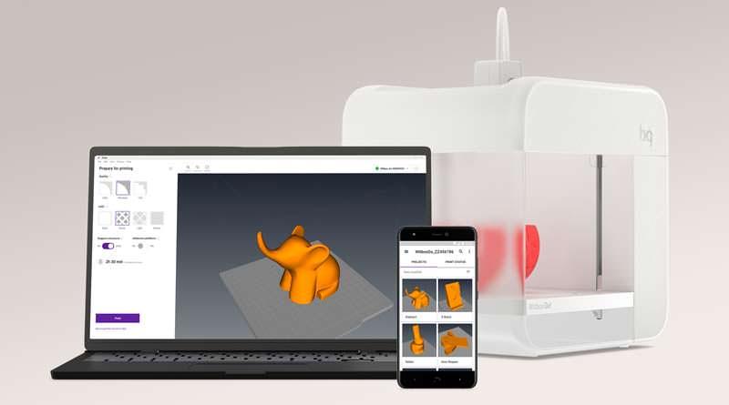 BQ Witbox Go!: первый 3D-принтер на Android   цена, инфо