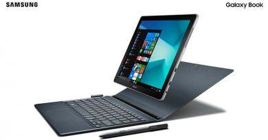Планшет Samsung Galaxy Book: ответ Surface   характеристики