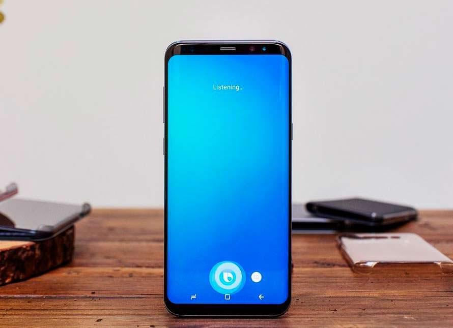 Голосовой помощник Samsung Bixby