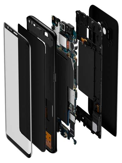 Разобранный Samsung Galaxy S8 / S8+