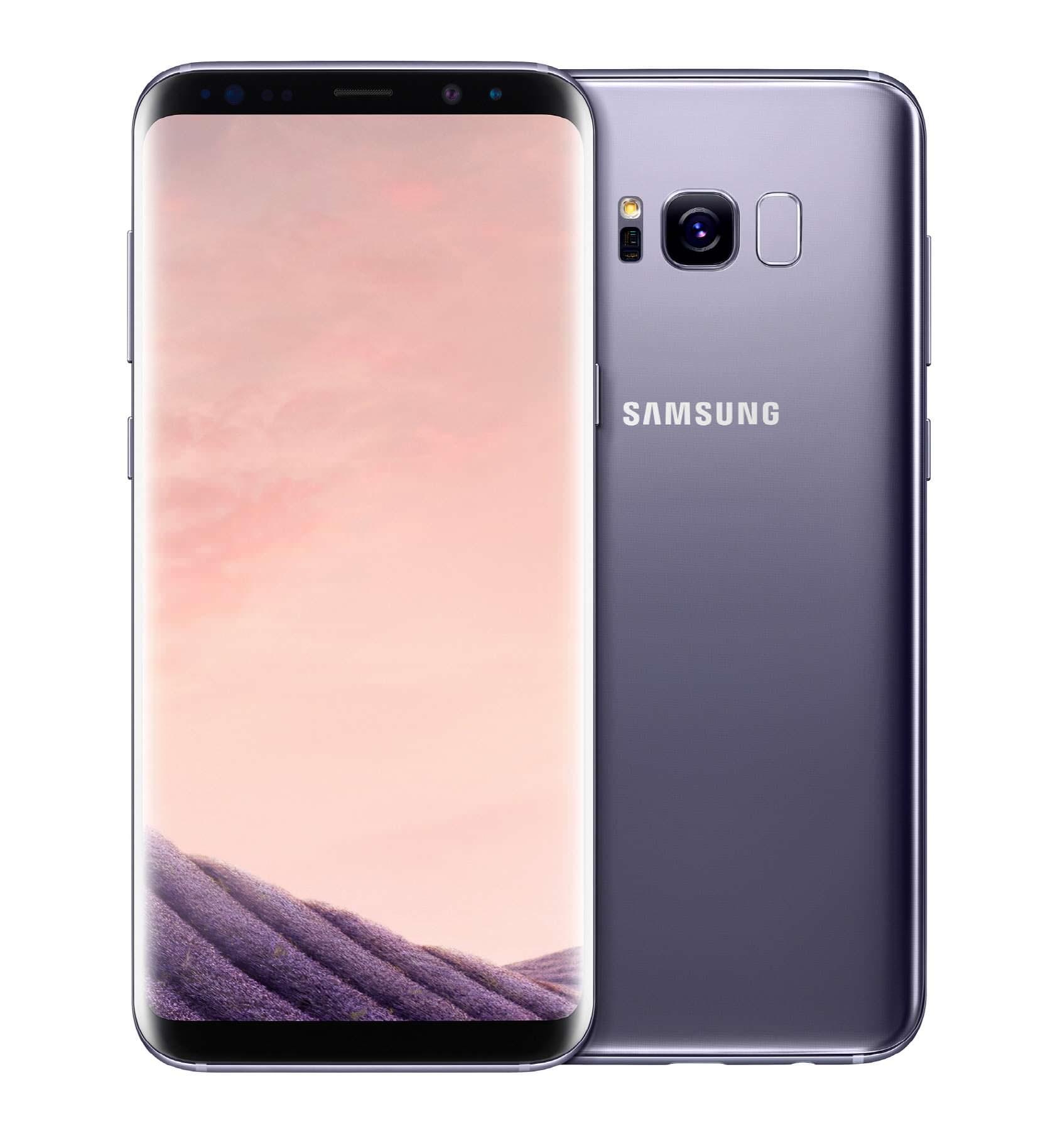 Samsung Galaxy S8 и S8+ Мистический аметист