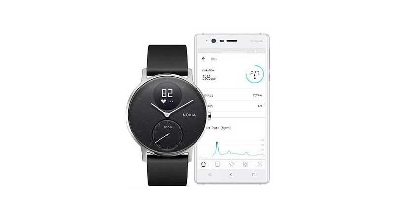 Компания Nokia выпустила часы, фитнес-трекер и умные весы