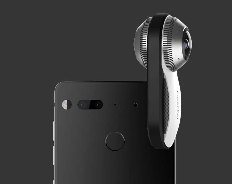 Подключаемая 360-градусная камера к Essential Phone