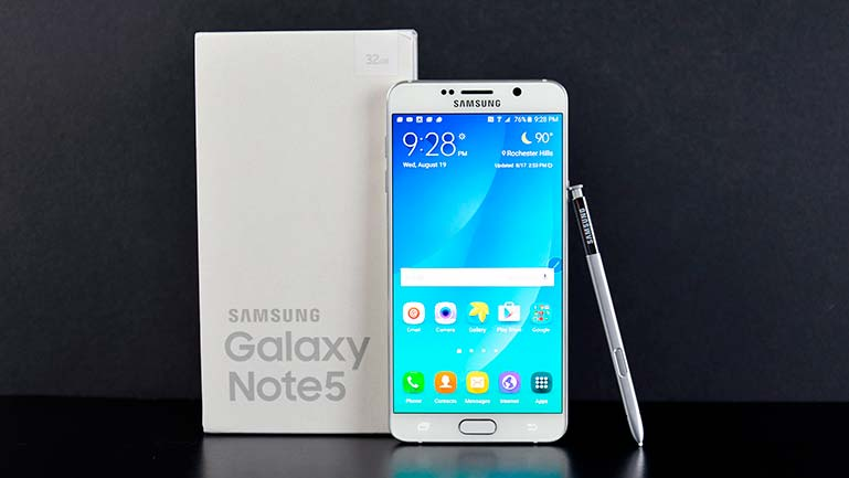 #3. Samsung Galaxy Note 5