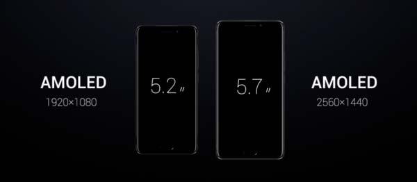 Диагональ экрана Meizu Pro 7 и Pro 7 Plus на матрице AMOLED