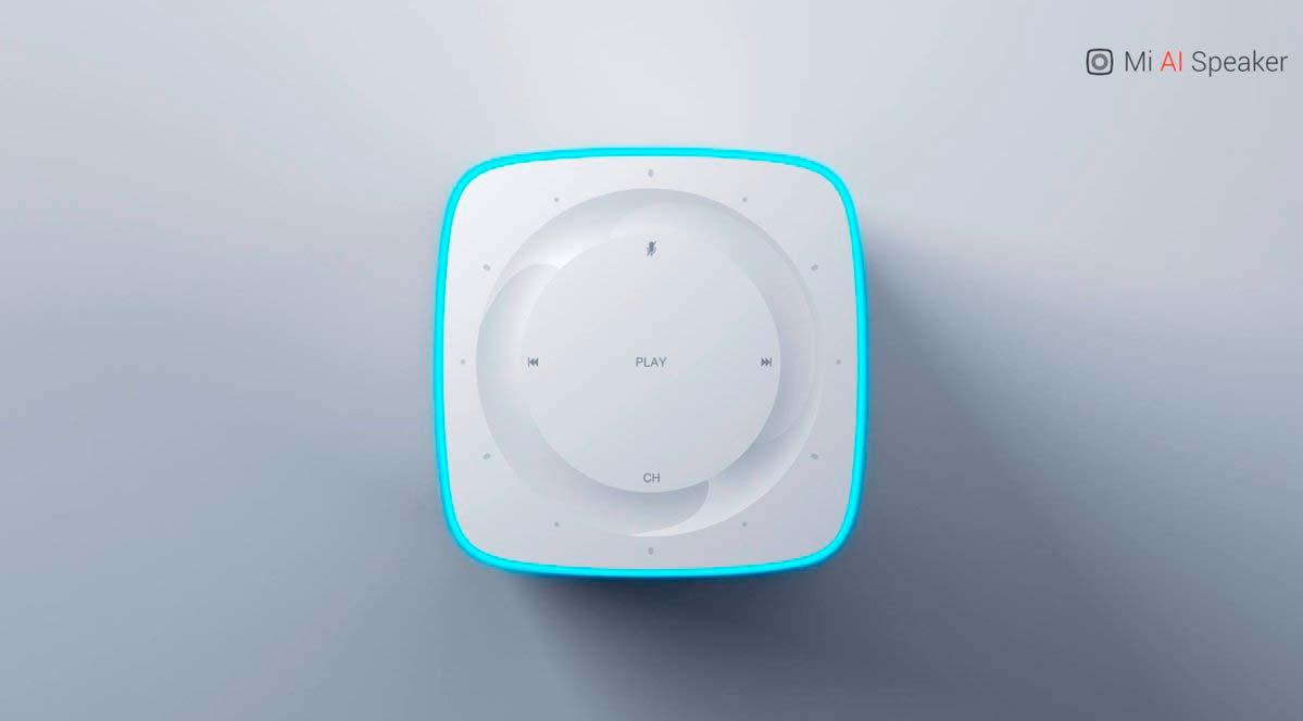 Джойстик управления умной колонкой Xiaomi Mi AI Speaker