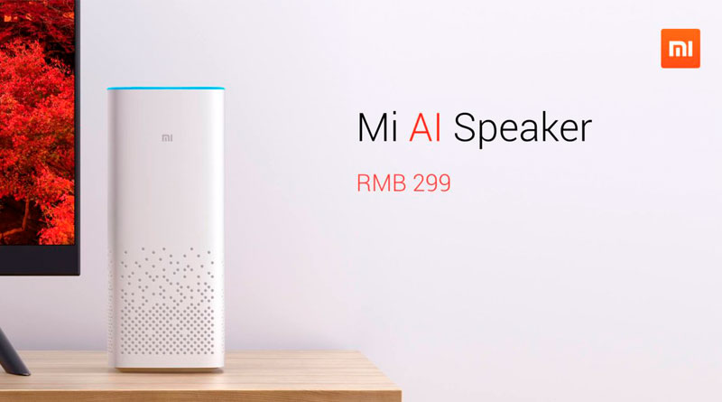 Вышла умная колонка Xiaomi Mi AI Speaker | цена, инфо