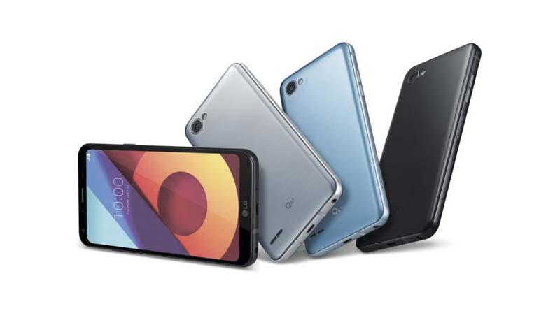 LG Q6: новый смартфон середнячок, но без сканера отпечатков