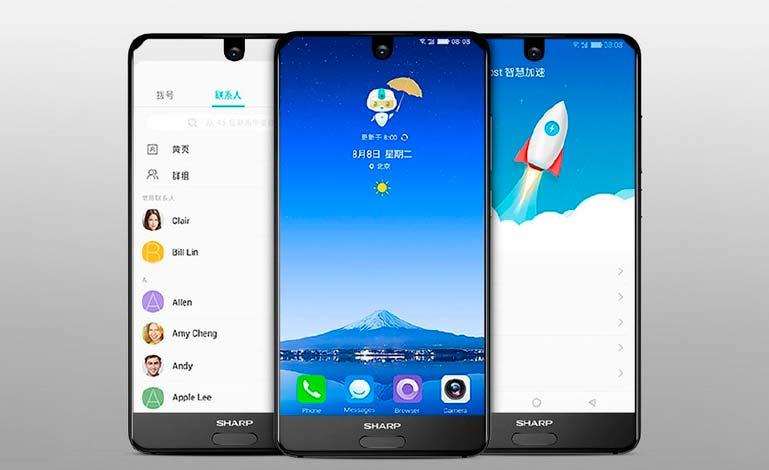 Sharp AQUOS S2: цена от $370 в Китае