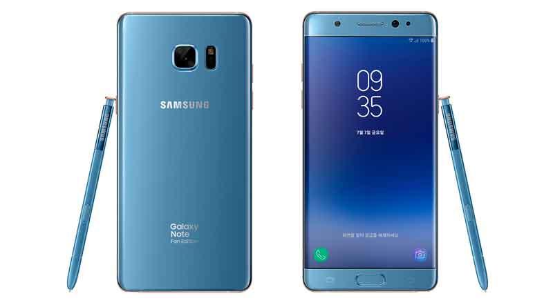 Обзор смартфона Samsung N935 Galaxy Note Fan Edition Black