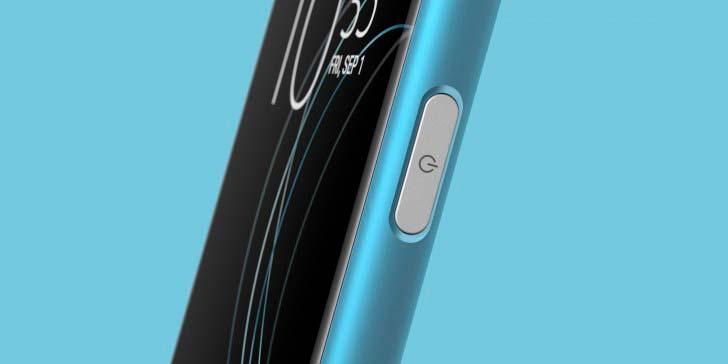 Sony Xperia XA1 Plus: сканер отпечатков в кнопке питания