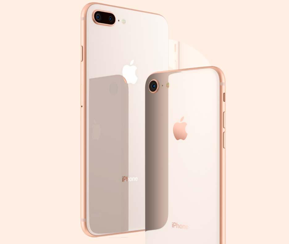 Новые смартфоны Apple iPhone 8 и 8 Plus