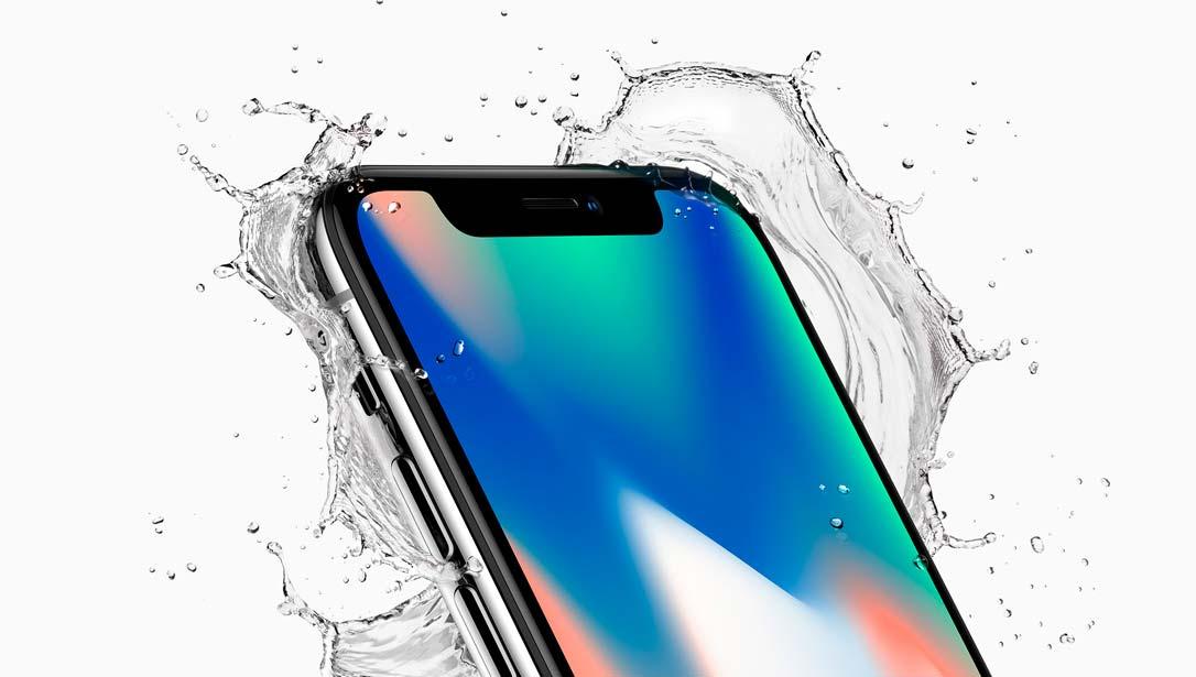 Apple iPnone X: защита от пыли и влаги