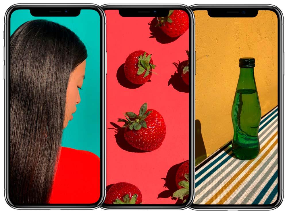 Новый безрамочный смартфон Apple iPnone X