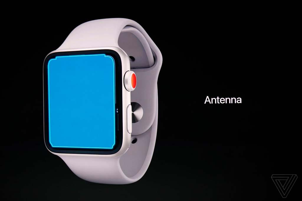 Новые смарт-часы Apple Watch Series 3: антенна на весь экран