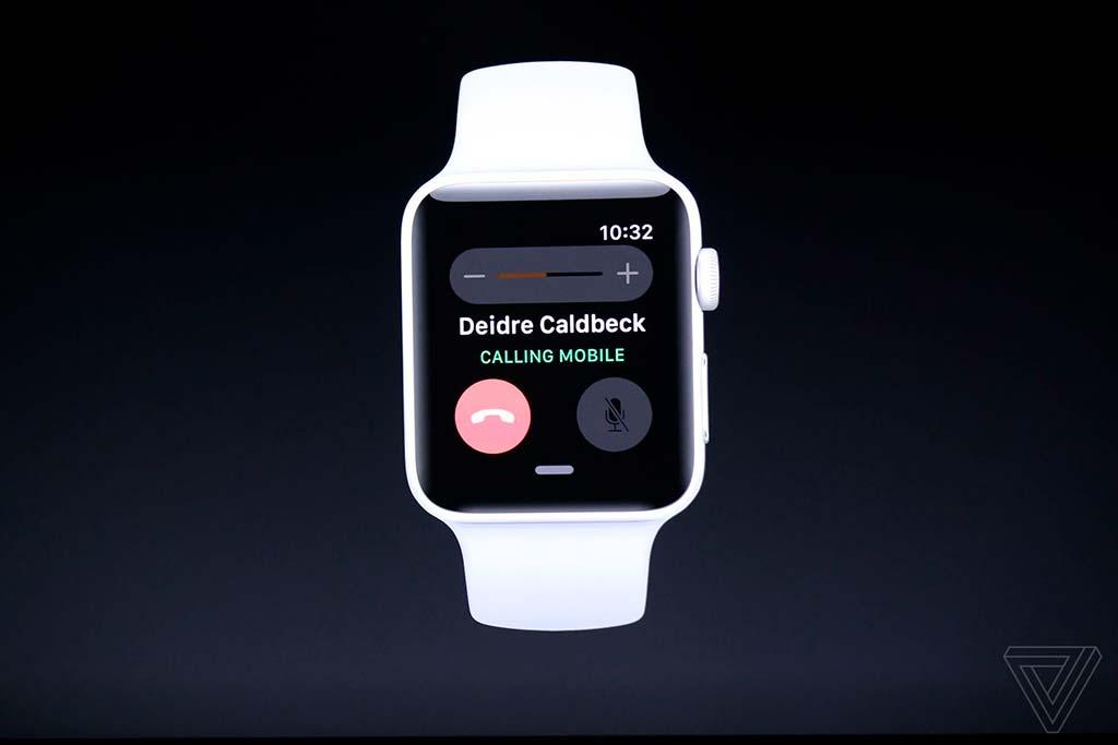 Новые смарт-часы Apple Watch Series 3: можно звонить