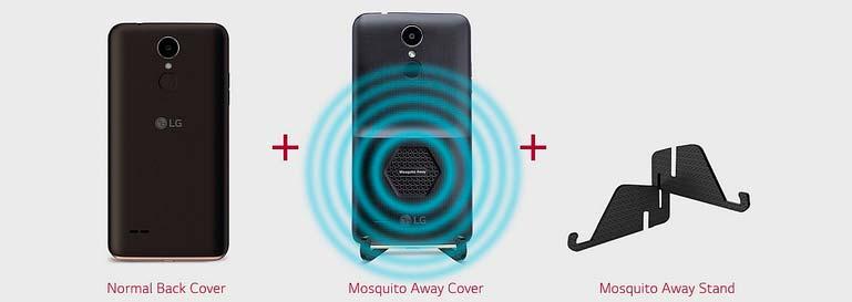 LG K7i: первый в мире смартфон от комаров