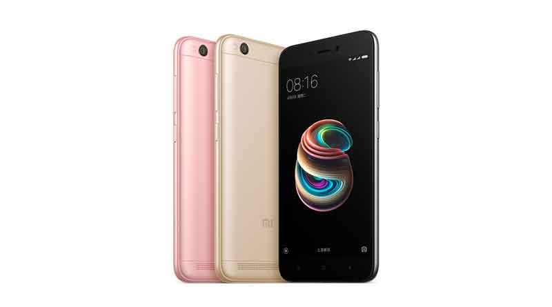 Новый дешевый смартфон Xiaomi Redmi 5A официально