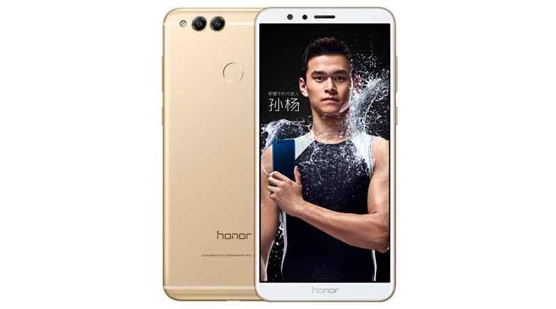 Вышел новый металлический смартфон Huawei Honor 7X