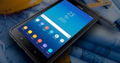 Samsung показала противоударный планшет Galaxy Tab Active 2
