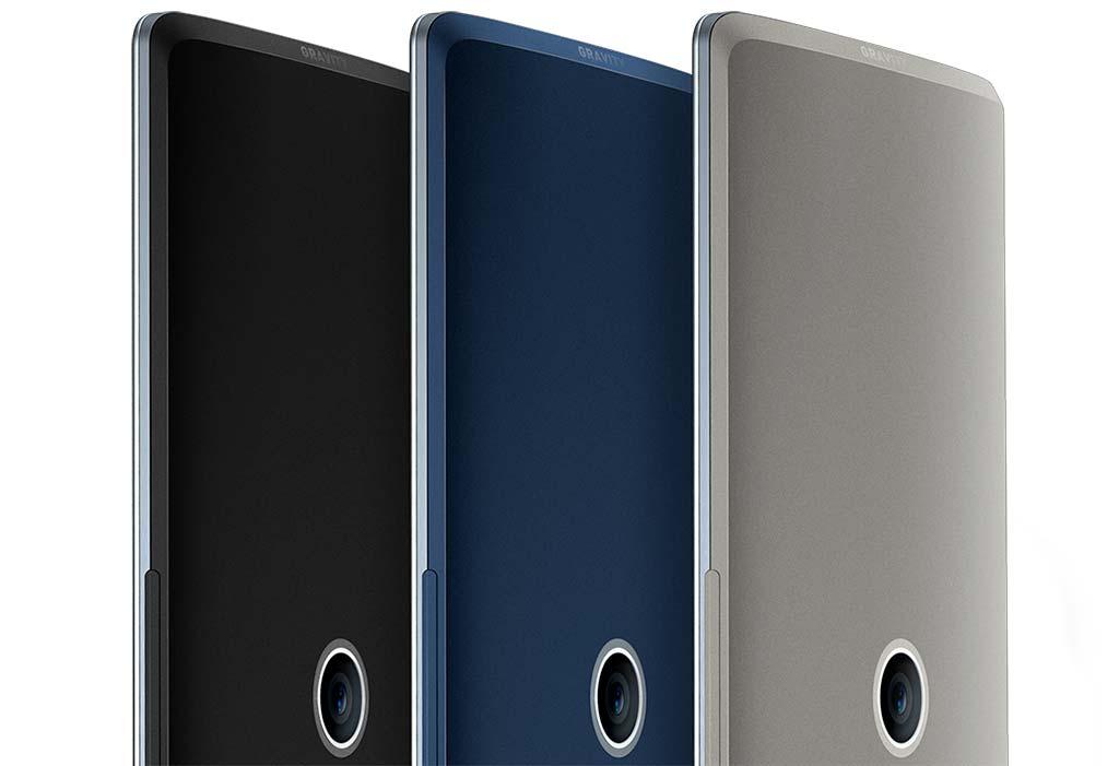Симметричный смартфон Gravity: оригинальный дизайн