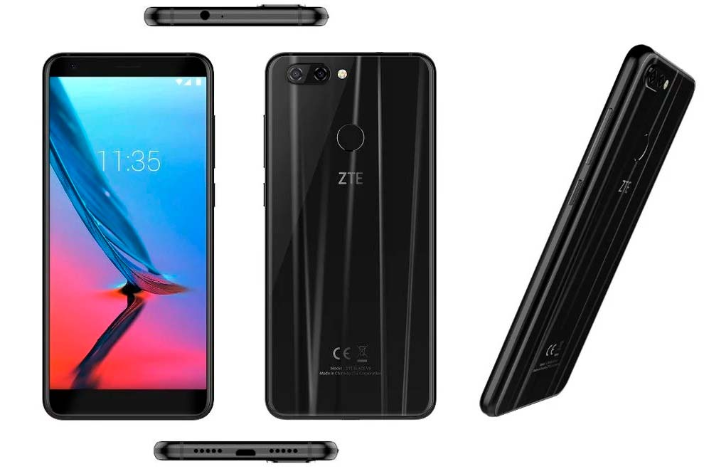 ZTE Blade V9: смартфон на Android 8.0 Oreo из коробки