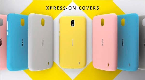 Бюджетный смартфон Nokia 1 и сменные задние панельки Xpress-on