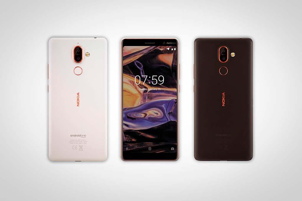 Nokia 7 Plus - смартфон середнячок с экраном 18:9