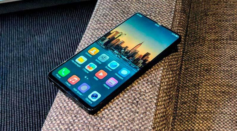 Вышел смартфон с самыми узкими рамками в мире Vivo APEX