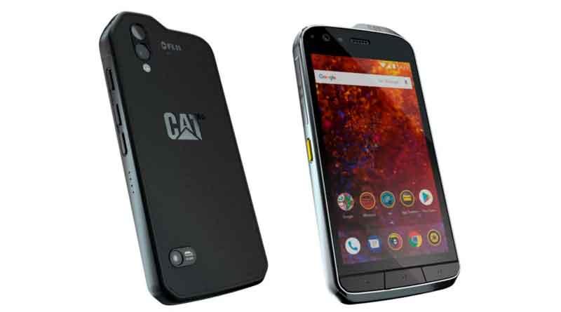 Защищенный смартфон CAT S61 получил улучшенный тепловизор