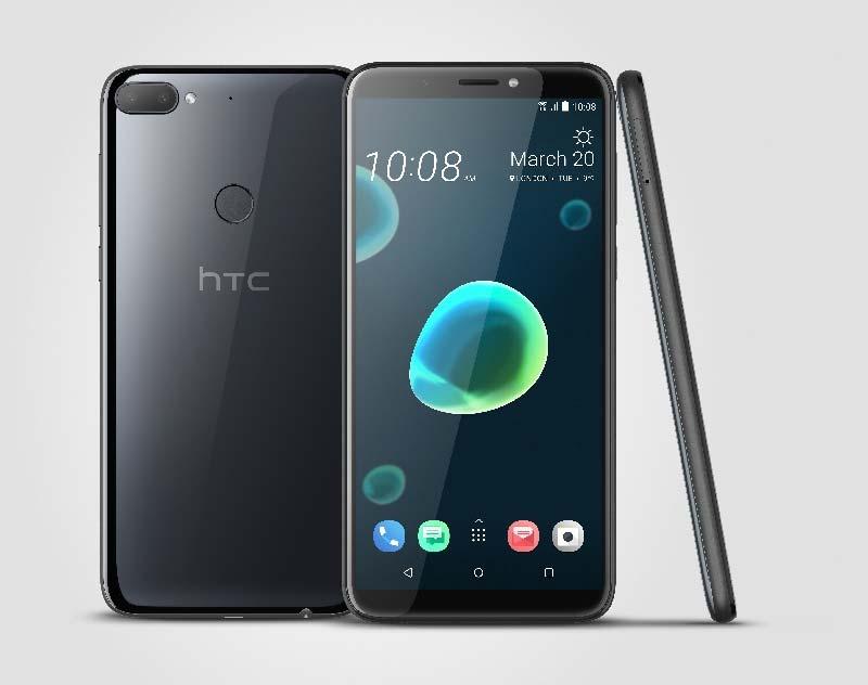 Бюджетный смартфон HTC Desire 12+