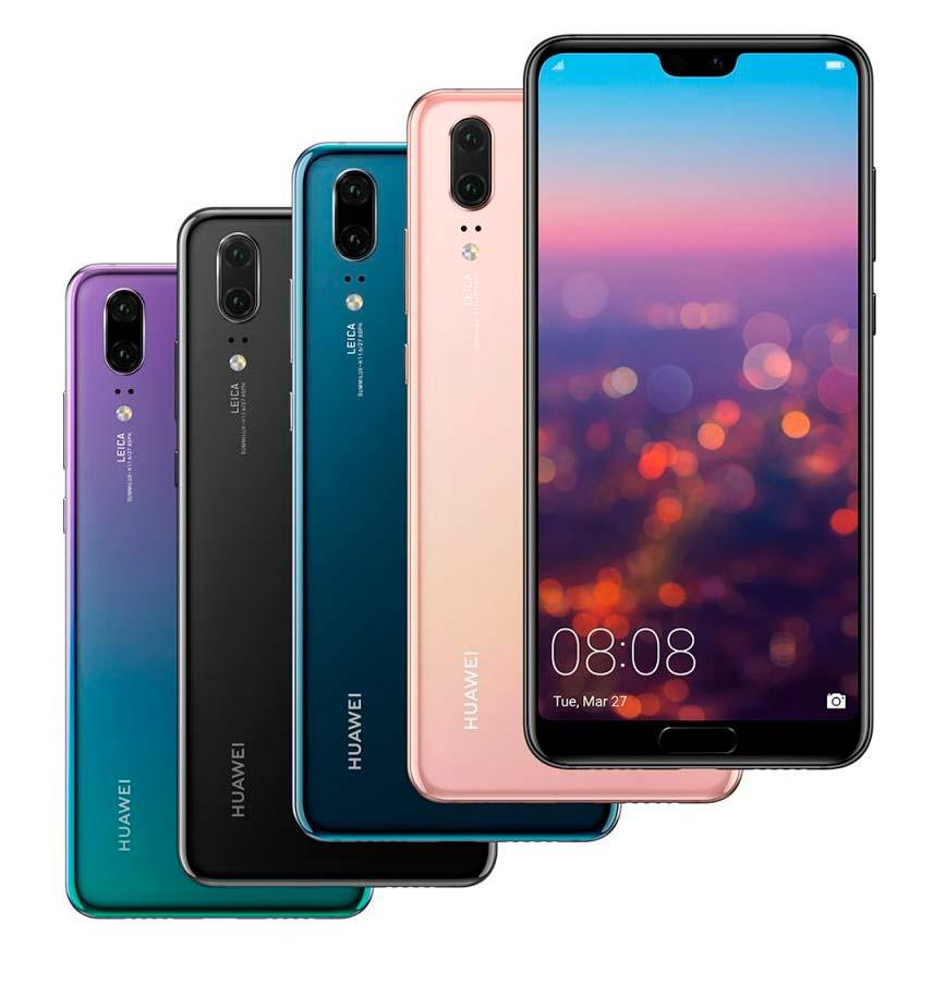 Новые смартфоны Huawei P20: процессор Kirin 970