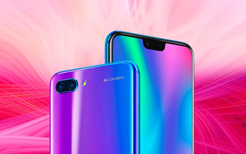 Цена Huawei Honor 10 от $415