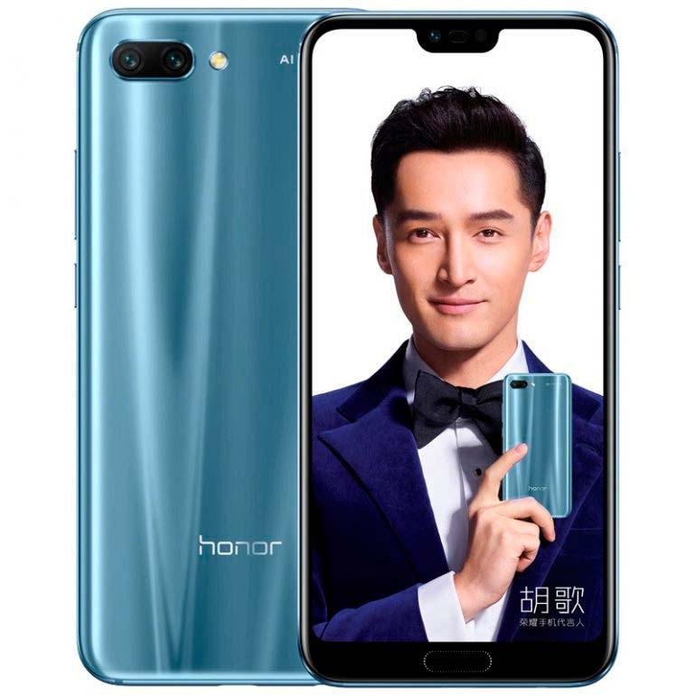 Huawei Honor 10 - новый смартфон с искусственным интеллектом