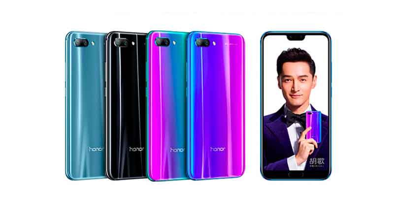 Флагманский смартфон Huawei Honor 10 показали официально