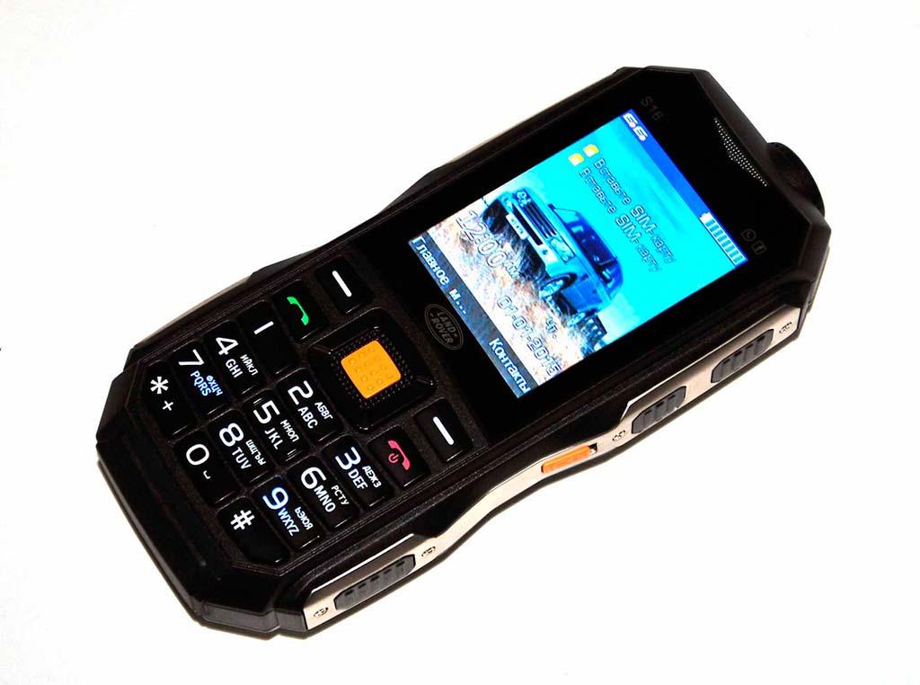 Защищенный телефон-моноблок