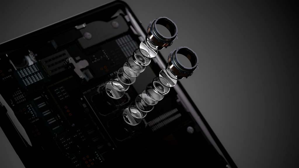 Сдвоенная основная камера Sony Xperia XZ2 Premium