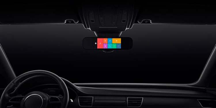 Xiaomi Mi Smart Rearview Mirror - умное зеркало заднего вида
