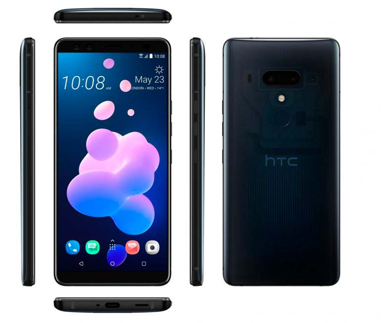 HTC U12+ топовый смартфон с четырьмя камерами