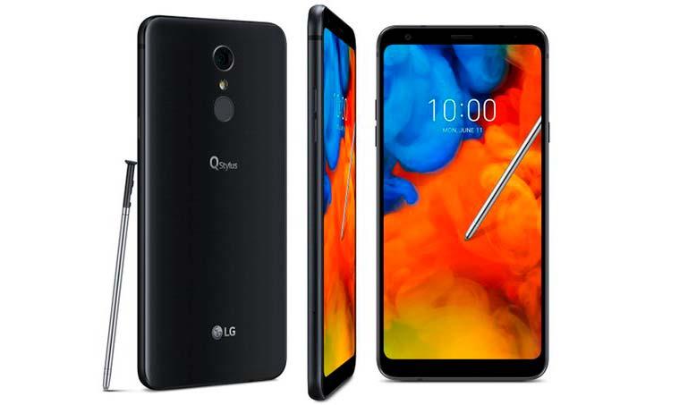 LG Q Stylus - новый смартфон со стилусом 2018 года